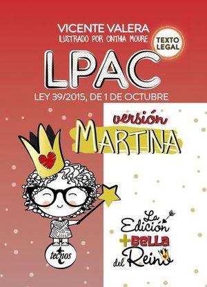 LPAC LEY 39/2015 DE 1 DE OCTUBRE VERSION MARTINA