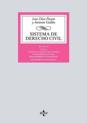 SISTEMA DE DERECHO CIVIL VOL. 2 TOMO II  ED. 2018