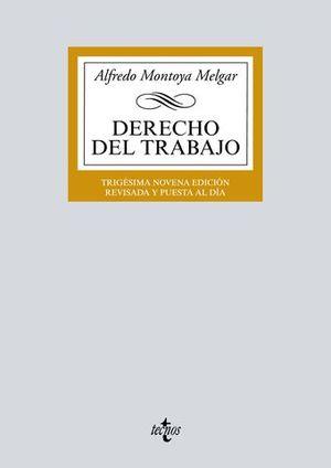 DERECHO DEL TRABAJO ED. 2018