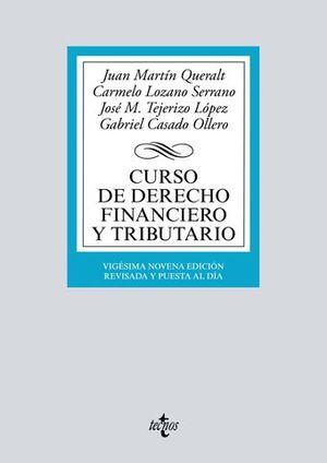 CURSO DE DERECHO FINANCIERO Y TRIBUTARIO ED. 2018