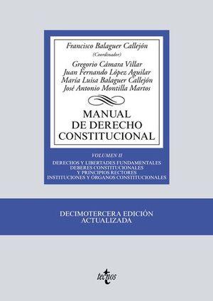 MANUAL DE DERECHO CONSTITUCIONAL VOL II