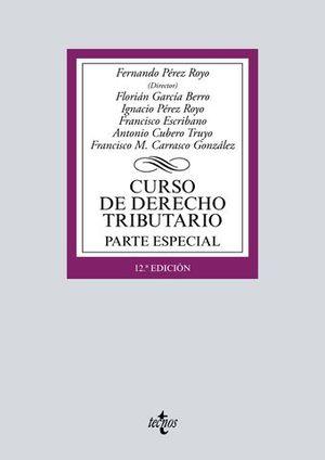 CURSO DERECHO TRIBUTARIO PARTE ESPECIAL ED. 2018