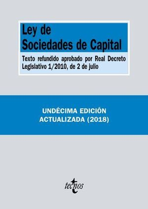 LEY DE SOCIEDADES CAPITAL ED. 2018