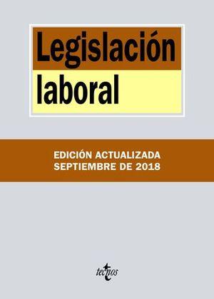 LEGISLACION LABORAL ED. 2018