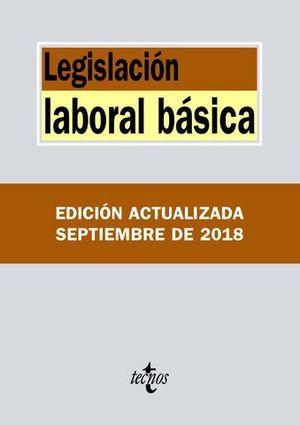 LEGISLACION LABORAL BASICA ED. 2018