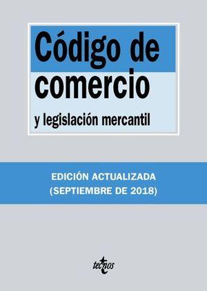 CODIGO DE COMERCIO Y LEGISLACION MERCANTIL 2018
