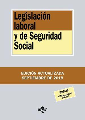 LEGISLACION LABORA Y DE SEGURIDAD SOCIAL 2018