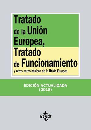 TRATADO DE LA UNION EUROPEA  2018