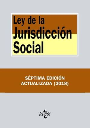 LEY DE LA JURISDICCION SOCIAL