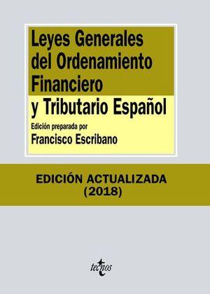 LEYES GENERALES ORDENAMIENTO FINANCIERO Y TRIBUTARIO