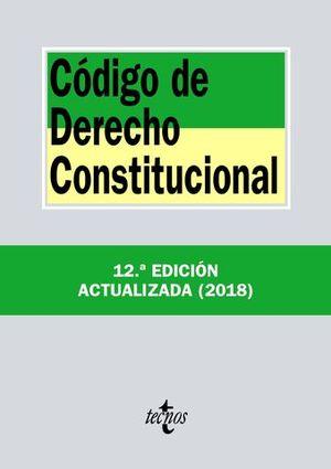 CODIGO DE DERECHO CONSTITUCIONAL ED. 2018