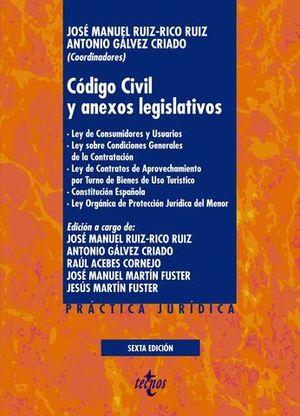 CODIGO CIVIL Y ANEXOS LEGISLATIVOS