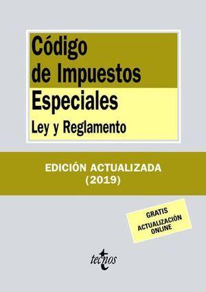 CODIGO DE IMPUESTOS ESPECIALES