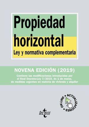 PROPIEDAD HORIZONTAL 9ª ED. 2019