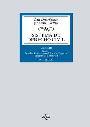 SISTEMA DE DERECHO CIVIL VOL III TOMO 1