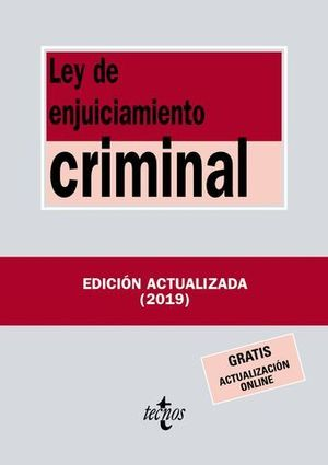 LEY DE ENJUICIAMIENTO CRIMINAL