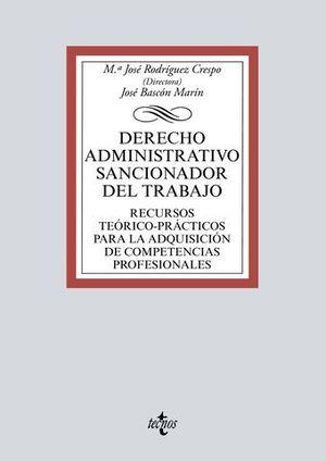 EL DERECHO ADMINISTRATIVO SANCIONADOR DEL TRABAJO