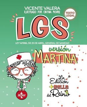 LGS VERSIÓN MARTINA LEY 14/1986 ABRIL GENERAL DE SANIDAD