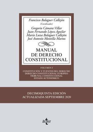 MANUAL DE DERECHO CONSTITUCIONAL VOL 1