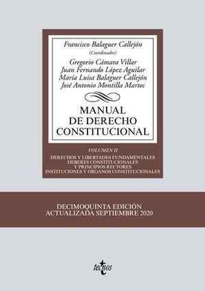 MANUAL DE DERECHO CONSTITUCIONAL VOL. 2