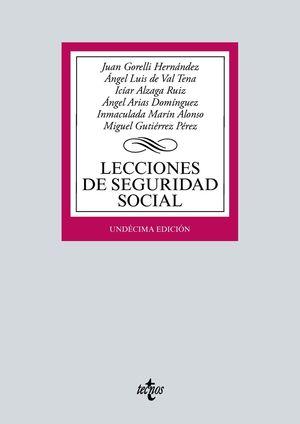 LECCIONES DE SEGURIDAD SOCIAL ED. 2021