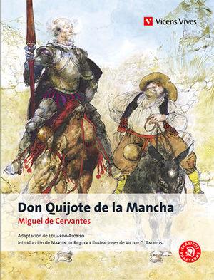DON QUIJOTE DE LA MANCHA -CLASICOS ADAPTADOS-