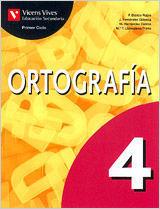 **OFERTAS** CUADERNO ORTOGRAFIA 4 SECUNDARIA