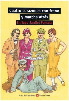 CUATRO CORAZONES CON FRENO Y MARCHA ATRAS