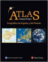 ATLAS GEOGRAFICO DE ESPAÑA Y DEL MUNDO