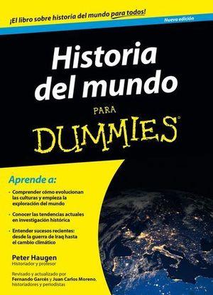 HISTORIA DEL MUNDO PARA DUMMIES