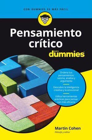 PENSAMIENTO CRITICO PARA DUMMIES