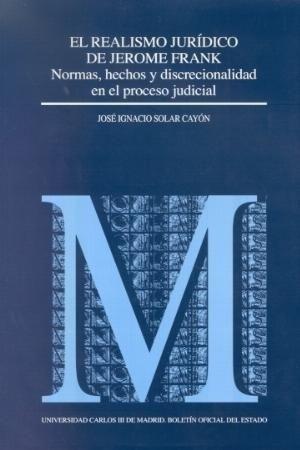 REALISMO JURIDICO DE JEROME FRANK, EL