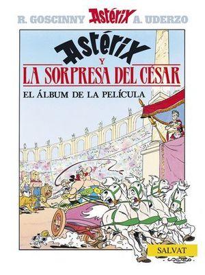ASTERIX Y LA SORPRESA DEL CESAR EL ALBUM DE LA PELICULA