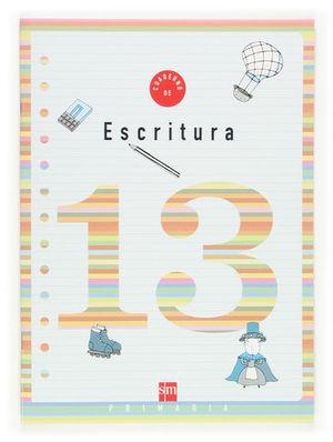 CUADERNO ESCRITURA 13 PAUTA ED. 2006