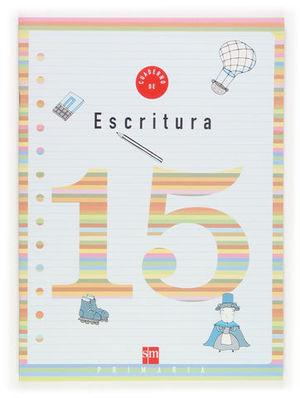 CUADERNO ESCRITURA 15 PAUTA ED. 2006