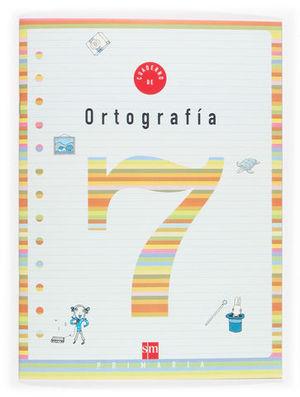 CUADERNO ORTOGRAFIA 7 PAUTA