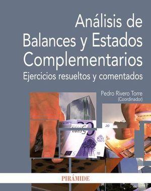 ANALISIS DE BALANCES Y ESTADOS COMPLEMENTARIOS