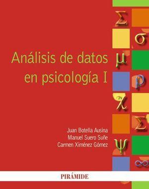 ANALISIS DE DATOS EN PSICOLOGIA I  ED. 2012
