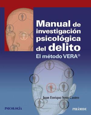 MANUAL DE INVESTIGACION PSICOLOGICA DEL DELITO METODO VERA