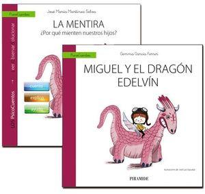 GUIA : LA MENTIRA + CUENTO : MIGUEL Y EL DRAGON EDELVIN