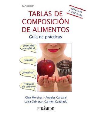 TABLAS DE COMPOSICIÓN DE ALIMENTOS 11ª ED.
