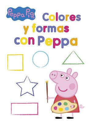 PEPPA PIG COLORES Y FORMAS CON PEPPA