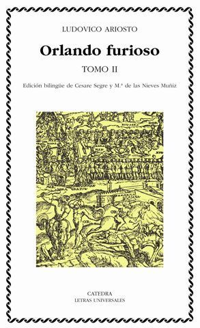 ORLANDO FURIOSO TOMO II (EDICION BILINGÜE)