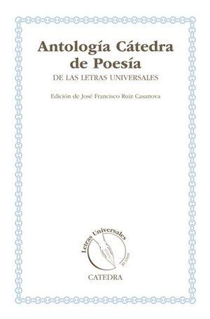 ANTOLOGIA CATEDRA DE POESIA