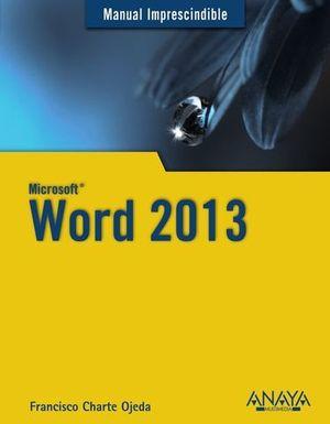 WORD 2013 MANUAL IMPRESCINDIBLE