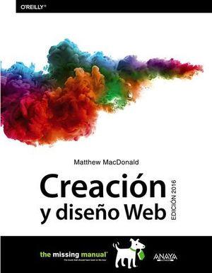 CREACION Y DISEÑO WEB ED. 2016