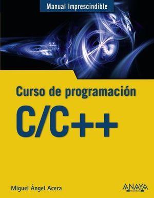 CURSO DE PROGRAMACION C/C++