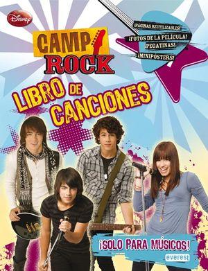 CAMP ROCK LIBRO DE CANCIONES