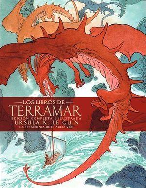 LOS LIBROS DE TERRAMAR. EDICIÓN COMPLETA ILUSTRADA.