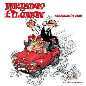 CALENDARIO DE PARED 2018 MORTADELO Y FILEMON